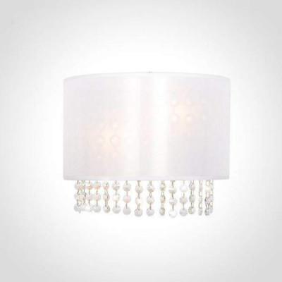 Настенный светильник Eurosvet Grace 10070/2 хром/белый Strotskis