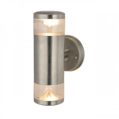 Уличный настенный светильник Arte Lamp Intrigo A8161AL-2SS