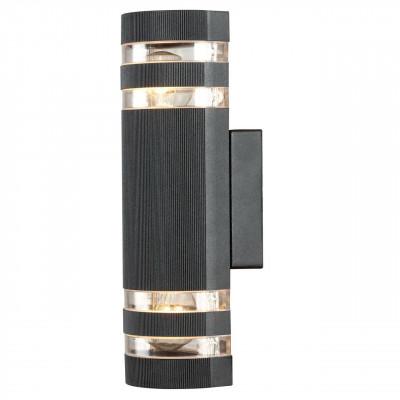Уличный настенный светильник Arte Lamp Metro A8162AL-2BK