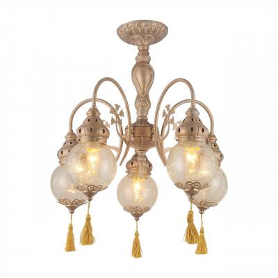 Потолочная люстра Arte Lamp A2146PL-5GA