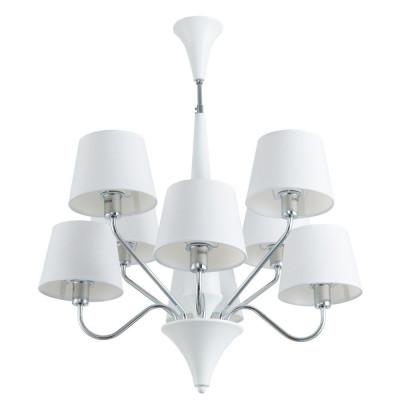 Подвесная люстра Arte Lamp A1528LM-8WH