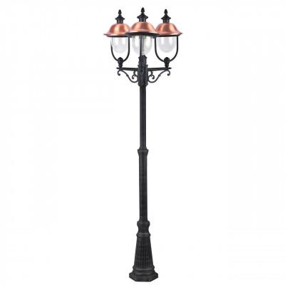 Садово-парковый светильник Arte Lamp Barcelona A1486PA-3BK
