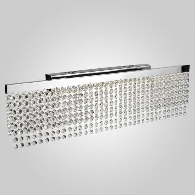 Настенный светодиодный светильник Eurosvet Royal 90049/1 хром