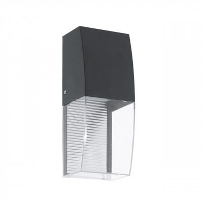 Уличный настенный светодиодный светильник Eglo Servoi 95992
