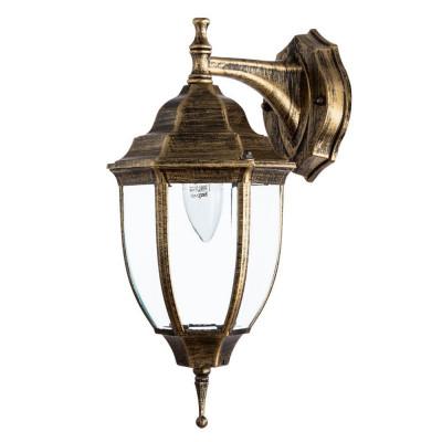 Уличный настенный светильник Arte Lamp Pegasus A3152AL-1BN