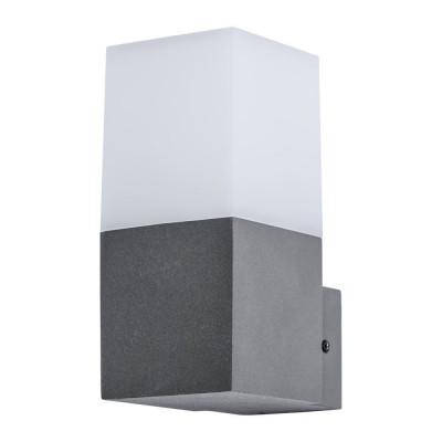 Уличный настенный светильник Arte Lamp A8372AL-1GY