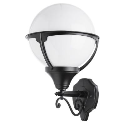 Уличный настенный светильник Arte Lamp Monaco A1491AL-1BK