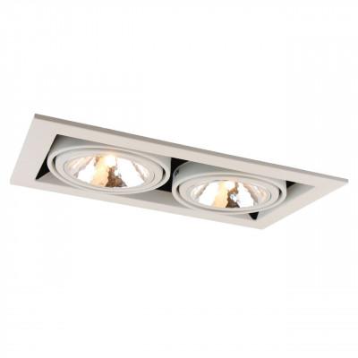 Встраиваемый светильник Arte Lamp Cardani Semplice A5949PL-2WH