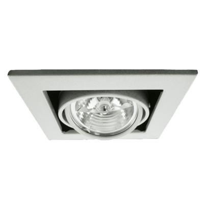 Встраиваемый светильник Arte Lamp Technika A5930PL-1SI